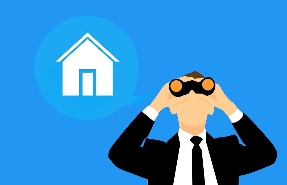 hledání nemovitosti