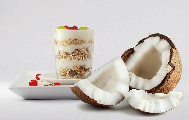 Snídaně z kokosu