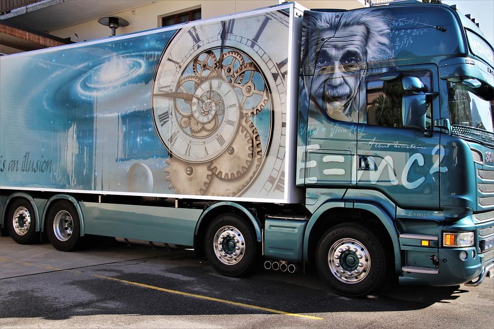 kamion grafika
